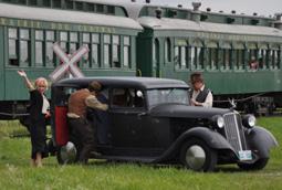 Bonnie & Clyde Train Robbery