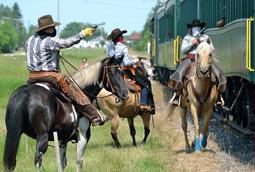 Horse Train Robbery